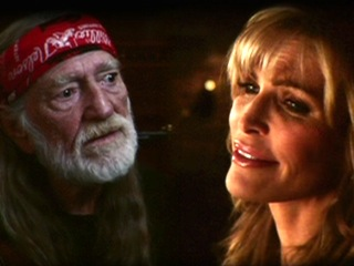 Shawn King (Queen Dalina) Sings with Willie Nelson